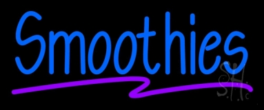Blue Smoothies Neon Sign