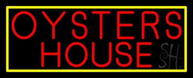 Oyster House Block 1 Neon Sign