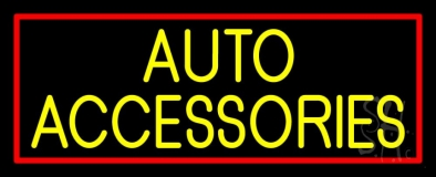 Auto Accessories Block 1 Neon Sign