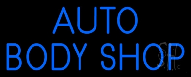 Auto Body Shop 1 Neon Sign