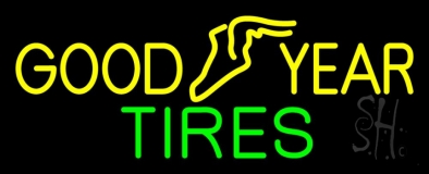 Goodyear Tires Neon Sign