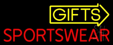 Gifts Sportswear Neon Sign
