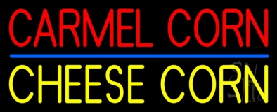 Carmel Corn Cheese Corn Neon Sign