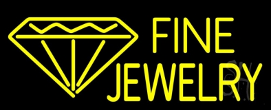 Fine Jewelry Neon Sign