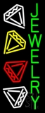 Green Jewelry Block Neon Sign