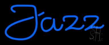 Blue Jazz 2 Neon Sign