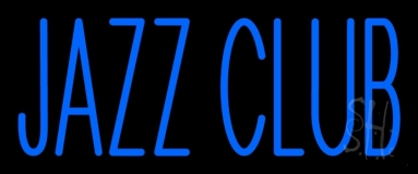 Blue Jazz Club Neon Sign