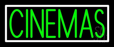 Green Cinemas Neon Sign