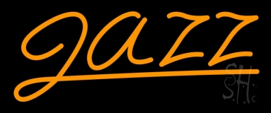 Orange Jazz 1 Neon Sign