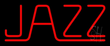 Red Jazz Block 2 Neon Sign