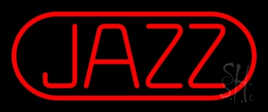 Red Jazz Block Neon Sign
