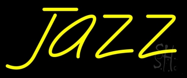 Yellow Jazz Neon Sign