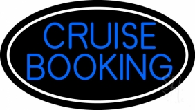 Blue Cruise Booking Neon Sign