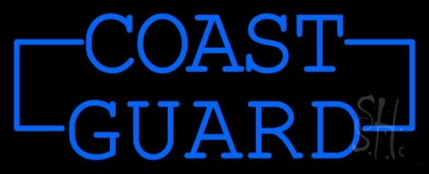 Coast Guard Neon Sign