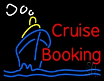 Cruise Booking Neon Sign