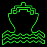Green Cruise Neon Sign