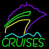 Green Cruises Logo Neon Sign