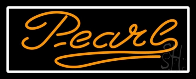 Orange Pearl Neon Sign