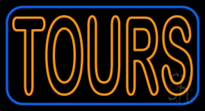 Orange Tours Neon Sign