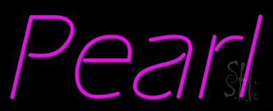 Pearl Pink Neon Sign