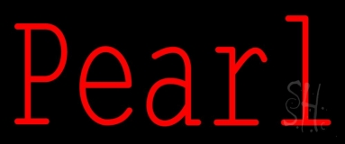 Pearl Red Neon Sign