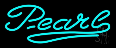 Turquoise Pearl Neon Sign