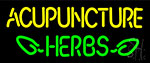 Acupuncture Herbs Neon Sign