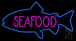 Seafood Fish Neon Sign