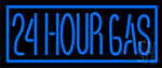 24 Hour Gas Neon Sign