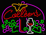 Catleens Beer Mug Neon Sign