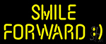 Smile Forward Neon Sign