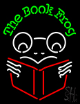 The Book Frog Neon Sign