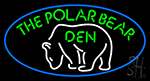 The Polar Bear Den Neon Sign