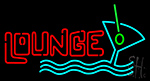 Lounce Beer Glass Neon Sign