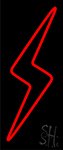Red Flash Neon Sign