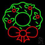 Christmas Flower Neon Sign