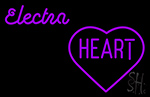 Cute Electra Heart Girls Neon Sign