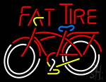 Fat Tire Neon Sign