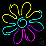 Flower Daisy Neon Sign
