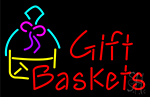 Gift Baskets Neon Sign