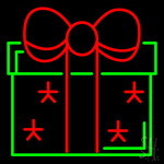 Gifts Box Neon Sign