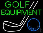 Golf Equipment Neon Sign