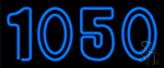 Blue 1050 Neon Sign