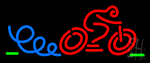 Cycle Racing Neon Sign