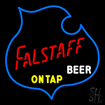 Falstaff On Tap Beer Neon Sign