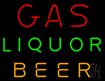 Gas Liquor Beer Neon Sign