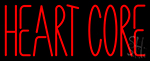 Heart Core Neon Sign