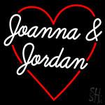Joanna And Jordan Neon Sign
