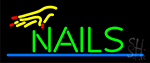 Nails Hand Neon Sign