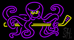 Octopus Hockey Neon Sign